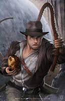 Indiana Jones by erlanarya