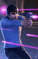 Spock by erlanarya