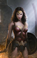 Wonder Woman by erlanarya