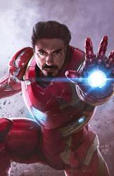 Tony Stark by erlanarya