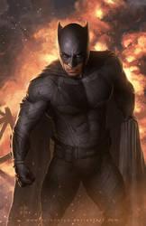 BATMAN (Juctice League Movie) by erlanarya