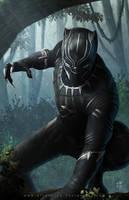 Black Panther by erlanarya