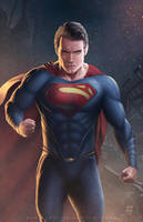 Man of Steel by erlanarya