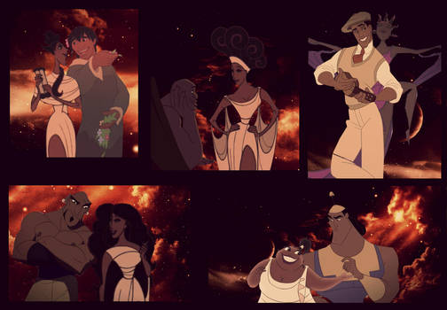 muses from hercules by identity511 on deviantart