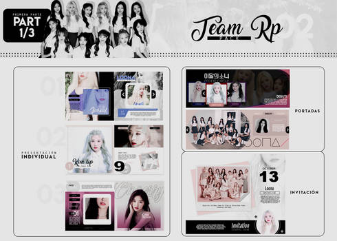 Special templates  +Team Rp02 {MINIPACK} by Bubblegomi