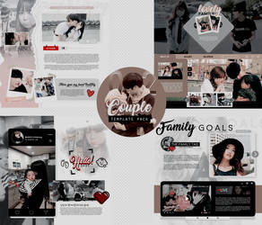 Special templates +Couple02 {MINIPACK} by Bubblegomi
