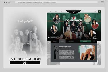 TEMPLATE / Interpretacion.PSD - 05 by Bubblegomi