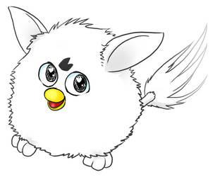 My Furby by yujiandhisboa