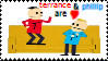 Terrance and Phillip: Stamp by Doxeh