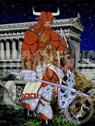 Minotaur Warrior by toganthus