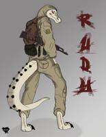 Rudy Anthropomorphic Vertion by CobraCalhoun