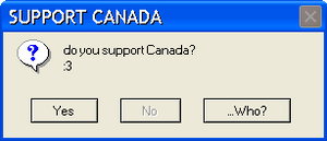 SUPPORT CANADA by potterchic1