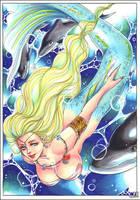 Mermaid by Kame-Urashima