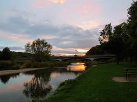 Sunset in Scotland by Nayamo
