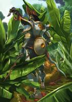 Malay Warrior by popia