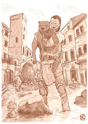 Karsa and Gnaw by Corporal--Nobbs