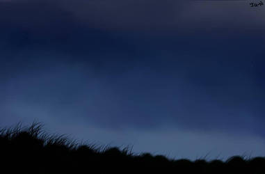Night landscape by Nishijun