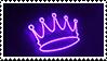 +STAMP | Purple  f2U #O12 - Crown by xPufflex