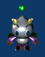 Silver Dragon Chao by Weatherfac