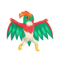 Hawlucha by Jalkoom