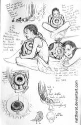 Portal sketchdump by nattherat