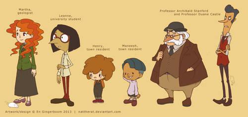 Professor Layton fancharacters 1 by nattherat