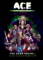 Ace Lightning Fanbook by nattherat