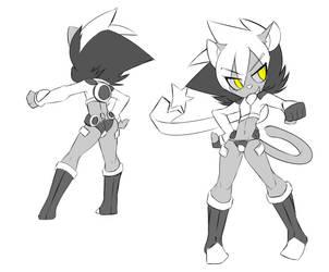 Star Hero Gemini Concept Art by GrassGremlin