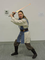 Blue Jedi by Flashgriffin