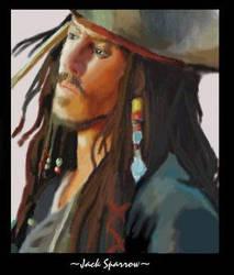 Jack Sparrow by KKzStudios