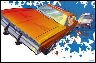 AdventureCon 2009 Dukes Print by gatchatom