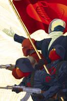 GI JOE: Origins 21 cover by gatchatom