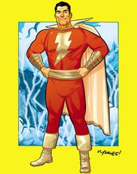 Captain Marvel by gatchatom
