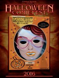 Criminal Records Halloween Comicfest poster by gatchatom