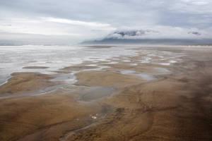 Low Tide Beach by GreenEyezz-stock