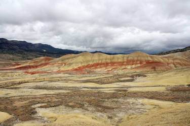 Painted Hills 4 by GreenEyezz-stock