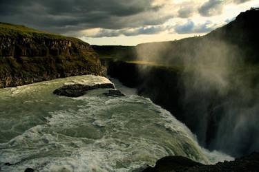 Iceland 2009 - Gulfoss by BayuEntertainment