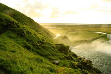 Iceland 2009- Seljalandsfoss by BayuEntertainment
