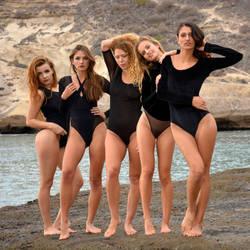 Five Beauties by rasmus-art