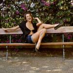Bench Girl by rasmus-art