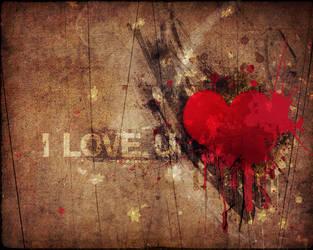 I love u by pincel3d