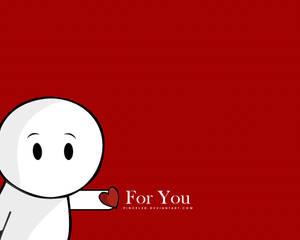 You - Wallpaper by pincel3d