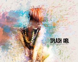 Splash Girl by pincel3d