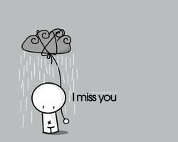 I miss... - Wallpaper by pincel3d