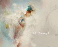 Like An Angel by pincel3d