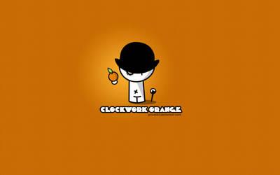 Clockwork Orange - Little boy by pincel3d