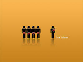 Think Different by pincel3d