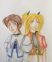 Shin and Ken colo by Yasm1806