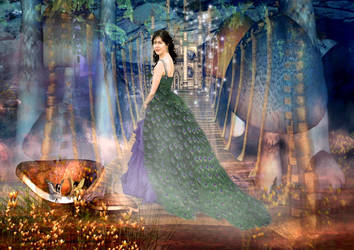 world of the fairy tale by queenphotoshop