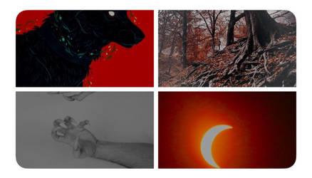Twitter moodboard ~ Nevangoth by ElyKiresu
